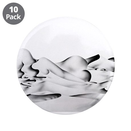 "Whispers 3.5"" Button (10 pack)"
