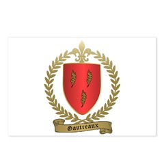 GAUTREAUX Family Crest Postcards (Package of 8)
