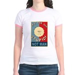 It's the sun stupid, NOT MAN Jr. Ringer T-Shirt