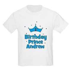 1st Birthday Prince Andrew! T-Shirt