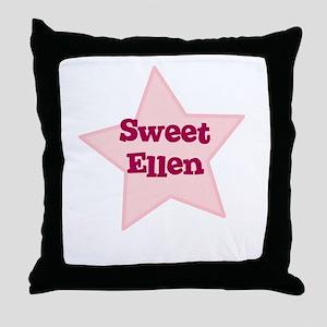 Sweet Ellen Throw Pillow