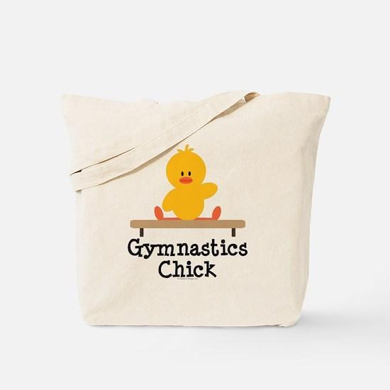 Gymnastics Chick Tote Bag