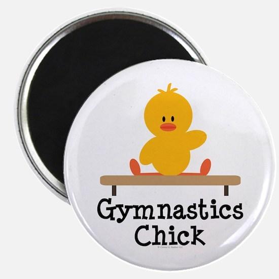 Gymnastics Chick Magnet