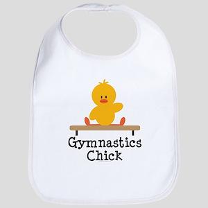 Gymnastics Chick Bib