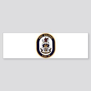 USS Bridge AOE 10 US Navy Ship Bumper Sticker