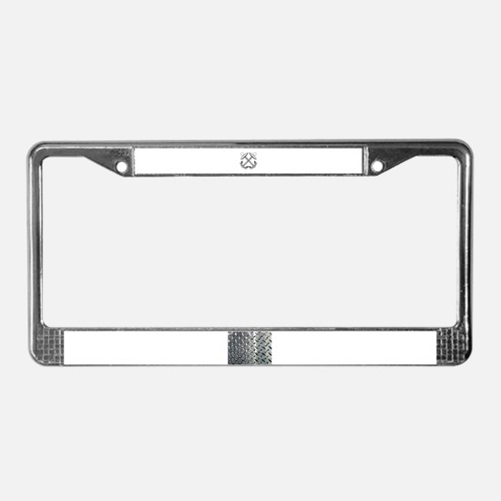 Unique Boatswains License Plate Frame