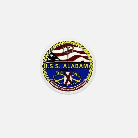 USS Alabama SSBN 731 US Navy Ship Mini Button