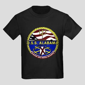 USS Alabama SSBN 731 US Navy Ship Kids Dark T-Shir