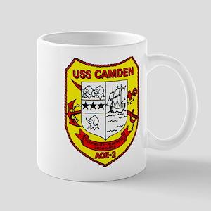 USS Camden AOE 2 US Navy Ship Mug