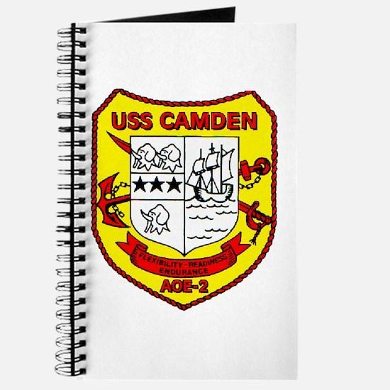USS Camden AOE 2 US Navy Ship Journal