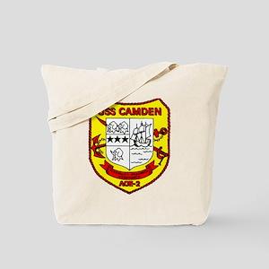 USS Camden AOE 2 US Navy Ship Tote Bag