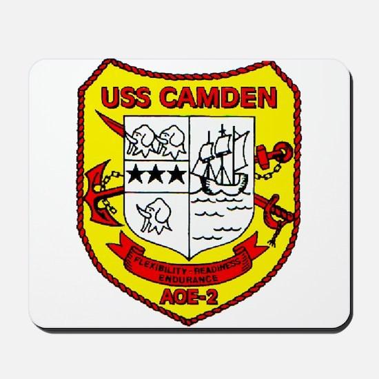 USS Camden AOE 2 US Navy Ship Mousepad