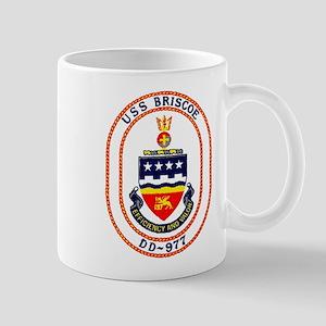 USS Briscoe DD 977 US Navy Ship Mug