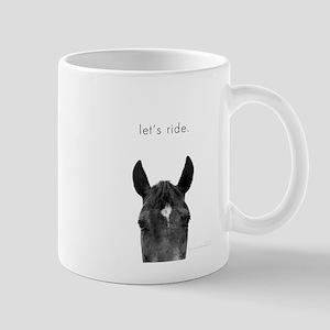 Let's Ride print by Ed Wood Mug