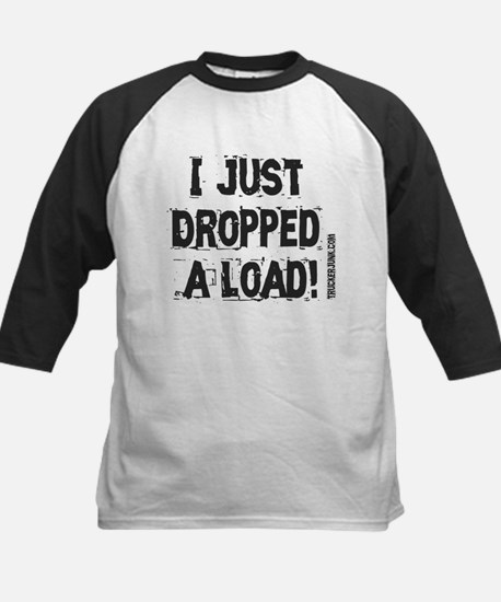 I Just Dropped a Load - Light Kids Baseball Jersey