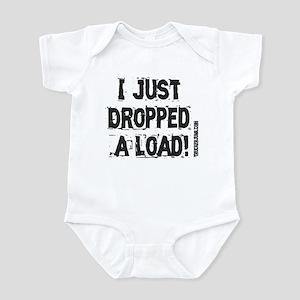 I Just Dropped a Load - Light Infant Bodysuit