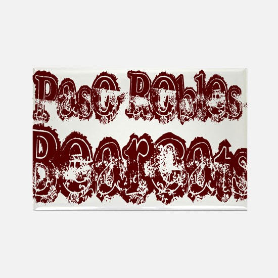 PASO ROBLES BEARCATS (25) Rectangle Magnet