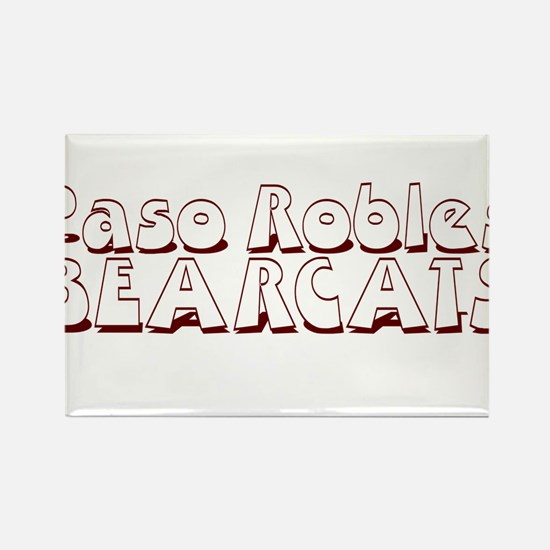PASO ROBLES BEARCATS (23) Rectangle Magnet