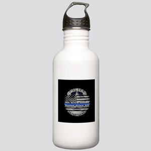 Thin Blue Line Stainless Water Bottle 1.0L