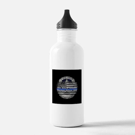 Thin Blue Line Water Bottle