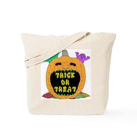 Trick Or Treat Pumpkin (tote bag)