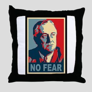 FDR - No Fear Throw Pillow