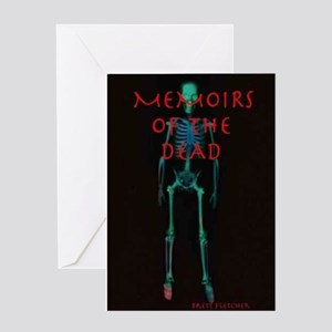 MEMOIRS OF THE DEAD Greeting Card