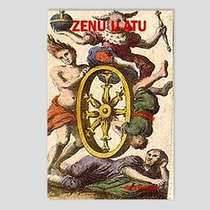 ZENU U ATU Postcards (Package of 8)