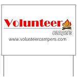Camp Site Yard Sign