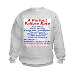 Perfect Failure Kids Sweatshirt