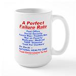 Perfect Failure Large Mug
