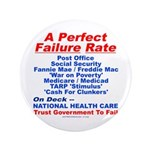 """Perfect Failure 3.5"""" Button (100 pack)"""