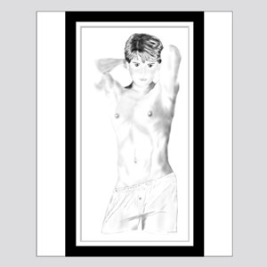 Boi in Boxers Small Poster
