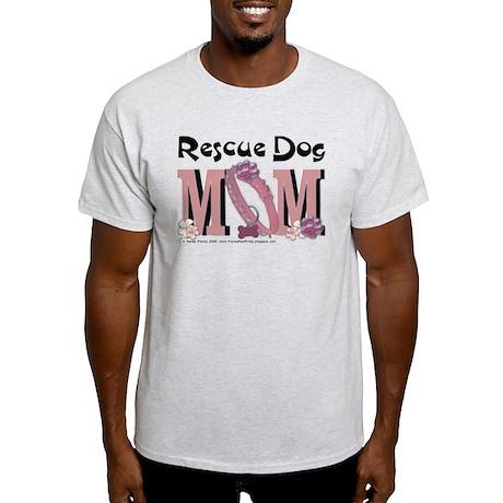 Rescue Dog MOM Light T-Shirt