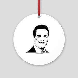 Arnold Schwarzenegger -  Ornament (Round)
