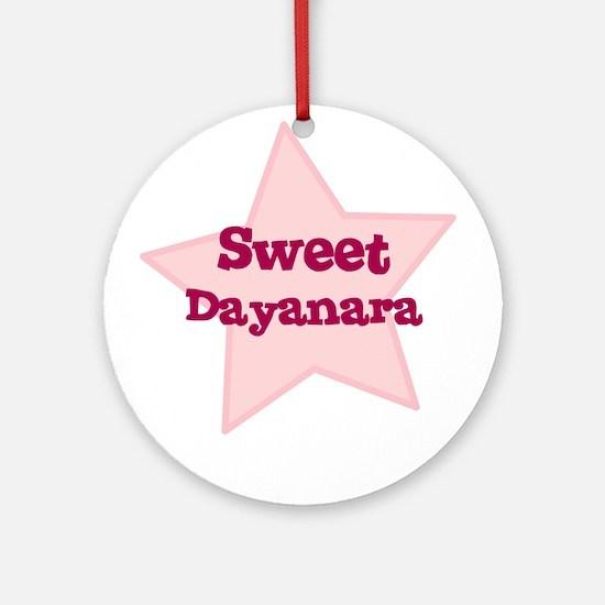 Sweet Dayanara Ornament (Round)