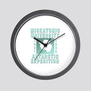 Miskatonic Antarctic Expedition Wall Clock