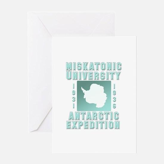Miskatonic Antarctic Expedition Greeting Card