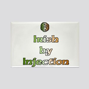 Irish by Injection Rectangle Magnet