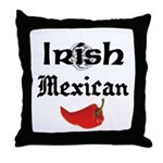 Irish Mexican Throw Pillow
