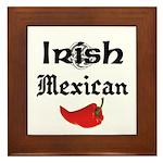 Irish Mexican Framed Tile