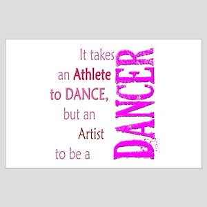 Artist Athlete Dancer Large Poster