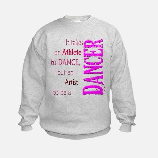 Artist Athlete Dancer Sweatshirt