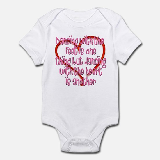 Dancing with Heart and Feet Infant Bodysuit