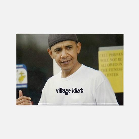 Village Idiot Rectangle Magnet (100 pack)