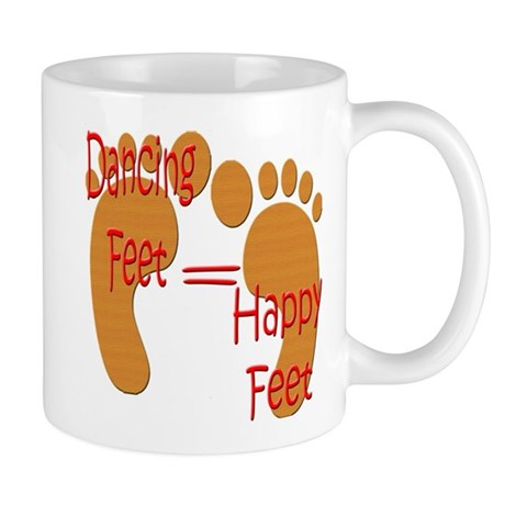 Dancing Feet are Happy Mug