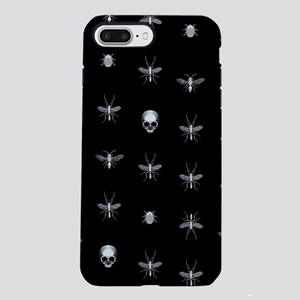 Gothic Insects And Skulls Pattern iPhone 7 Plus To