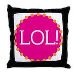 lol! Throw Pillow