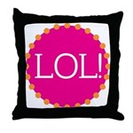 lol! Throw Pillow