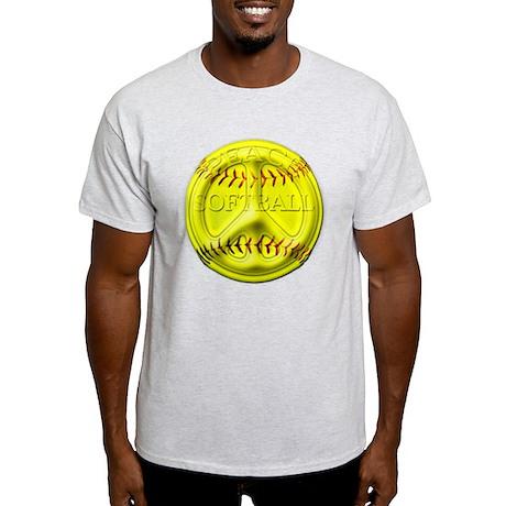Softball peace Light T-Shirt